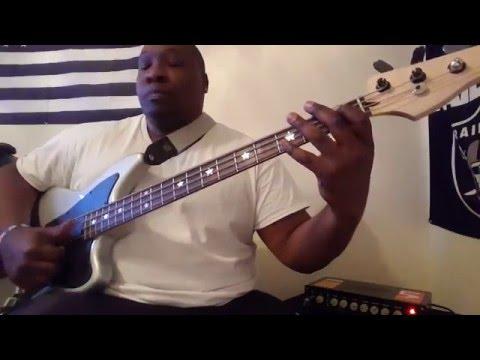 Michael Jackson - Get on the Floor (bass line) sorta