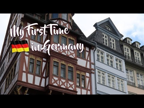 FRANKFURT, GERMANY | The Medieval Altstadt, Goethe's Home, German Apple Wine 🇩🇪