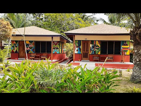 Vacation Room Tour*CHEAPEST Beach Resort in Ghana 🇬🇭