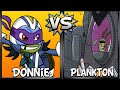 Super Brawl 4: Donnie Vs Plankton - Nick Games