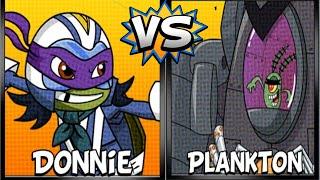 Super Brawl 4 Donnie Vs Plankton - Nick Games