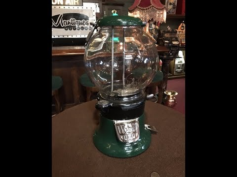 Vintage Columbus Candy & Peanut Bulk Vendor FOR SALE $695