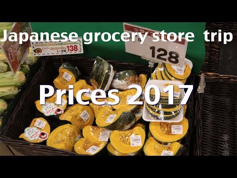 Food Cost In Japan:  Japanese Grocery Store 2017 Edition