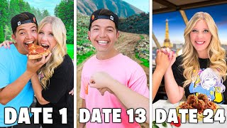 EXTREME 24 Dates in 24 Hours Challenge ft. Preston