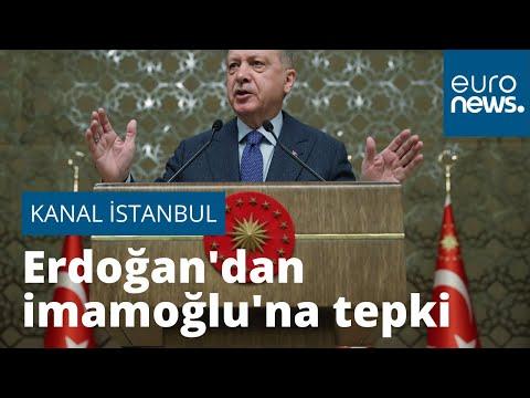 Erdoğan'dan İmamoğlu'na 'Kanal İstanbul' tepkisi: Sen otur işine bak, nasıl uyduğunu göreceksin…