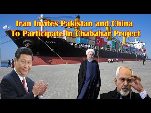 Iran says it has offered Pakistan and China participation in India's Chabahar project