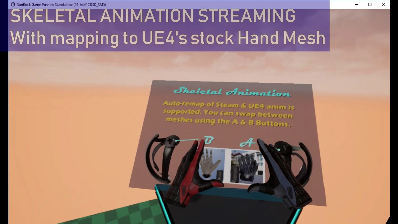 SUNROCK: SteamVR Knuckles Support for UE4 - Unreal Engine Forums