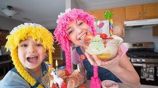 como hacer un banana split ice cream en casa S4:E10