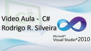 "Video Aula C# (Visual Studio) -  Criando o primeiro programa - ""HELLO WORLD"" - HD"