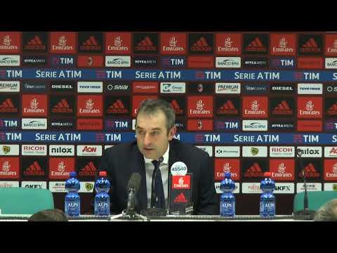 "Giampaolo: ""Milan in grande forma"""