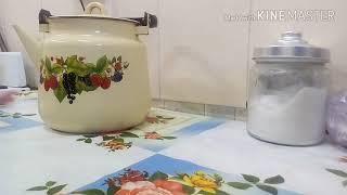 Уборка на кухне с уксусом.Утренняя рутина.