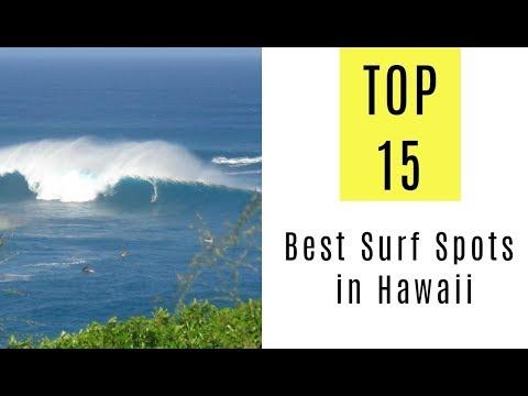 Best Surf Spots in Hawaii. TOP 15