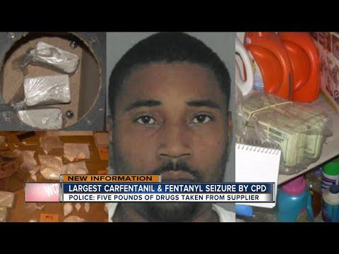 Cincinnati Police Make Largest Carfentanil And Fentanyl Seizure To Date