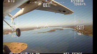RMRC Anaconda, FPV, OSD Ground footage, Beautiful weather in Zeeland