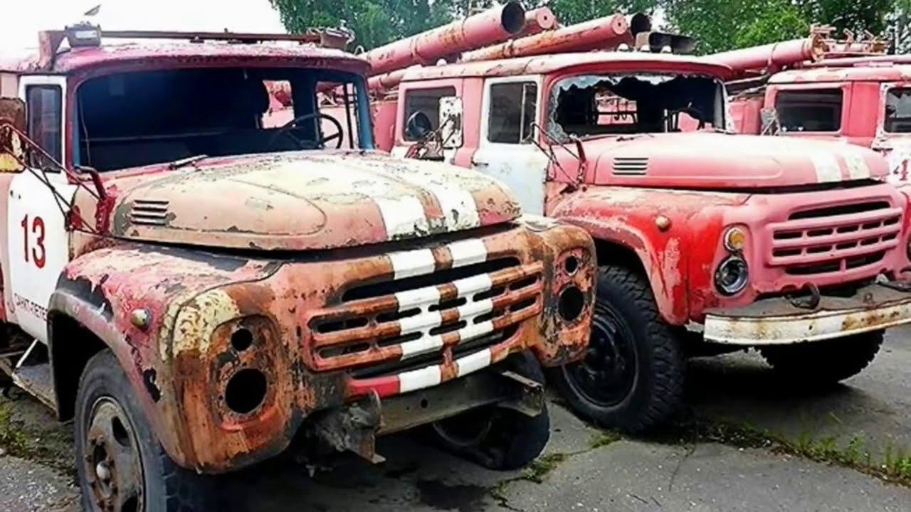 Брошенные грузовики и автобусы №2
