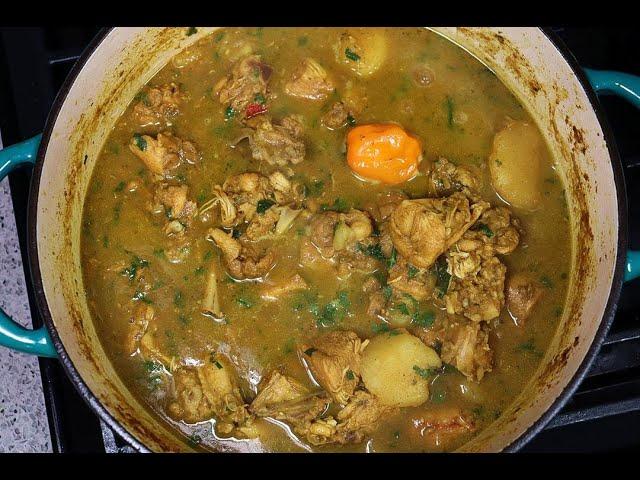 Curry Chicken With Potato | Caribbeanpot.com