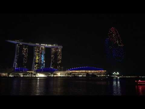 Drone light show for NDP 2017 unveiled