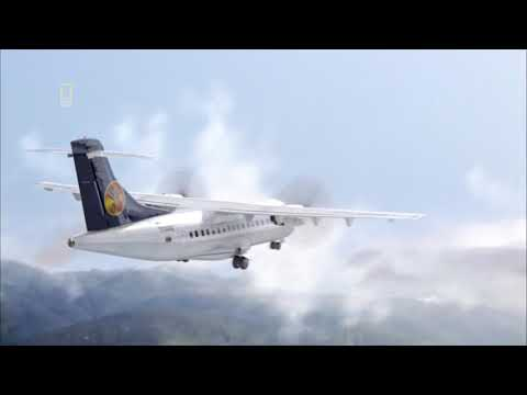 Santa Barbara Airlines Flight 518 - Crash Animation