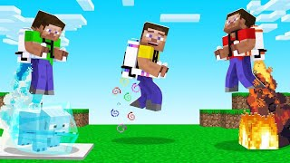 Minecraft WITH CRAZY Jet Packs! (different powers)