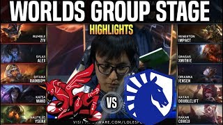 AHQ vs TL Highlights Worlds 2019 Group Stage Day 3 - AHQ Esports vs Team Liquid Highlights Worlds