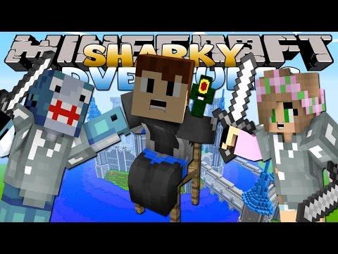 Minecraft Adventures - Sharky & Scuba Steve - SAVING LITTLE KELLY'S CASTLE