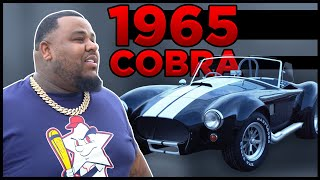 OMI IN A HELLCAT DRIVES HIS 1965 COBRA TO SOUTH PHILLY