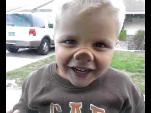 Squishy Nose : Chris squishy nose - YouTube