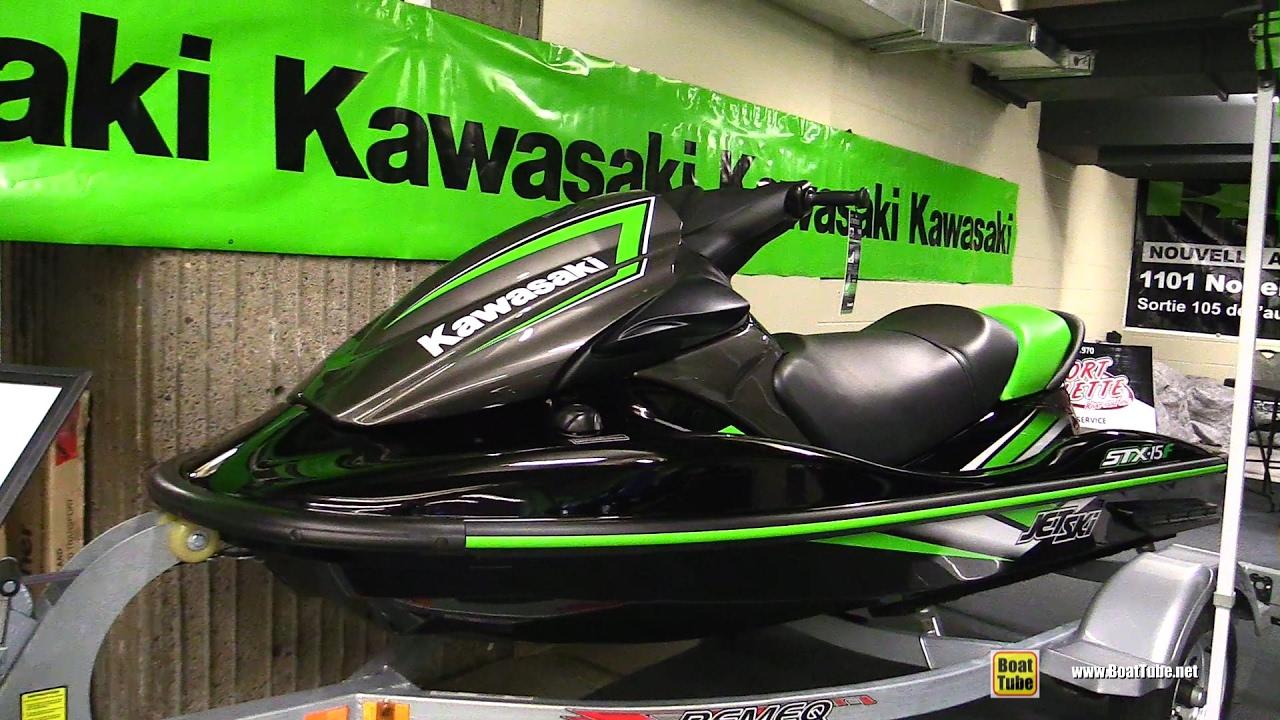 Kawasaki Stx 15f >> 2017 Kawasaki Stx 15f Jet Ski Walkaround 2017 Montreal Boat Show