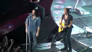 Keith Urban & Jake Owen - Jack & Diane (San Jose) HD
