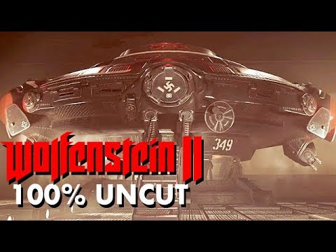 Wolfenstein 2 The New Colossus Gameplay German #13 - Reichs UFO