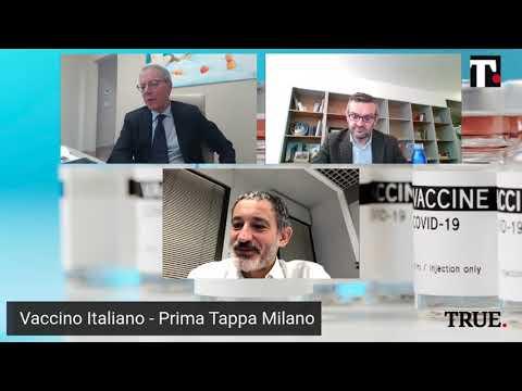 Vaccino italiano - Prima tappa Milano