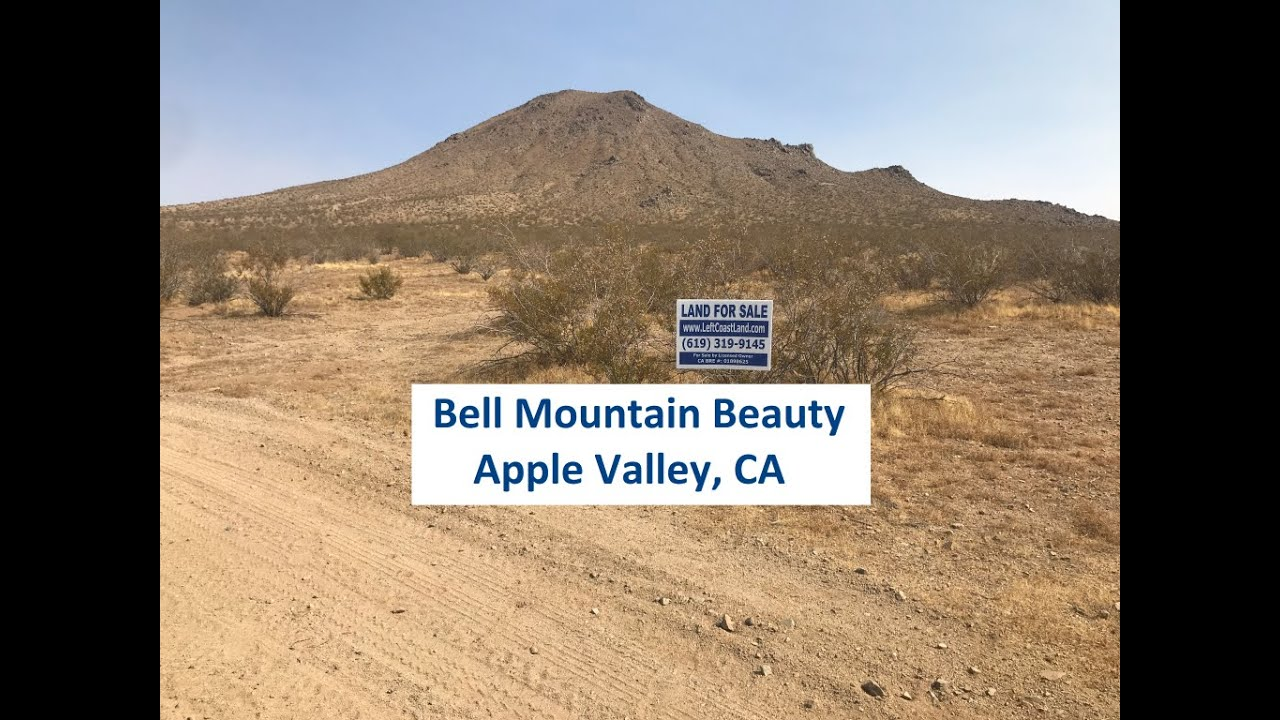 Apple Valley CA Land For Sale - Bell Mountain Beauty