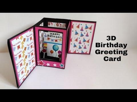 how-to-make-birthday-card-|-3d-birthday-greeting-card