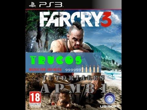 PS3 Trucos Far Cry 3 Munición Infinita