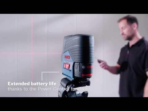 Greater efficiency thanks to Bluetooth® – Bosch GCL 2-50 C Professional