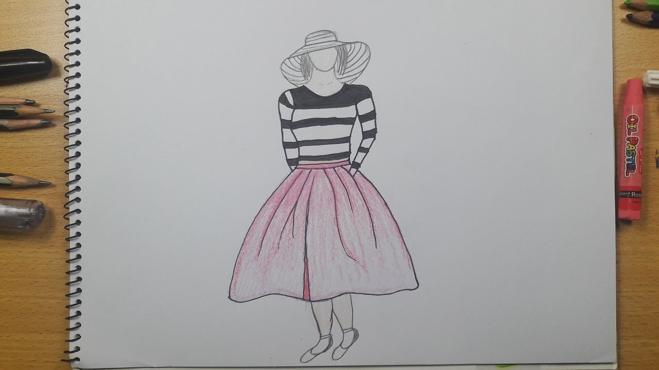 Easy Drawing Dresses