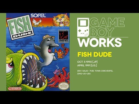 Fish Dude retrospective: The dude abides | Game Boy Works #096