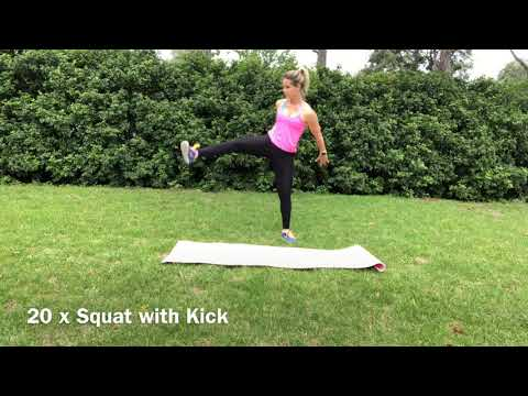Michelle Riley Fitness - Ladies Burn Workout