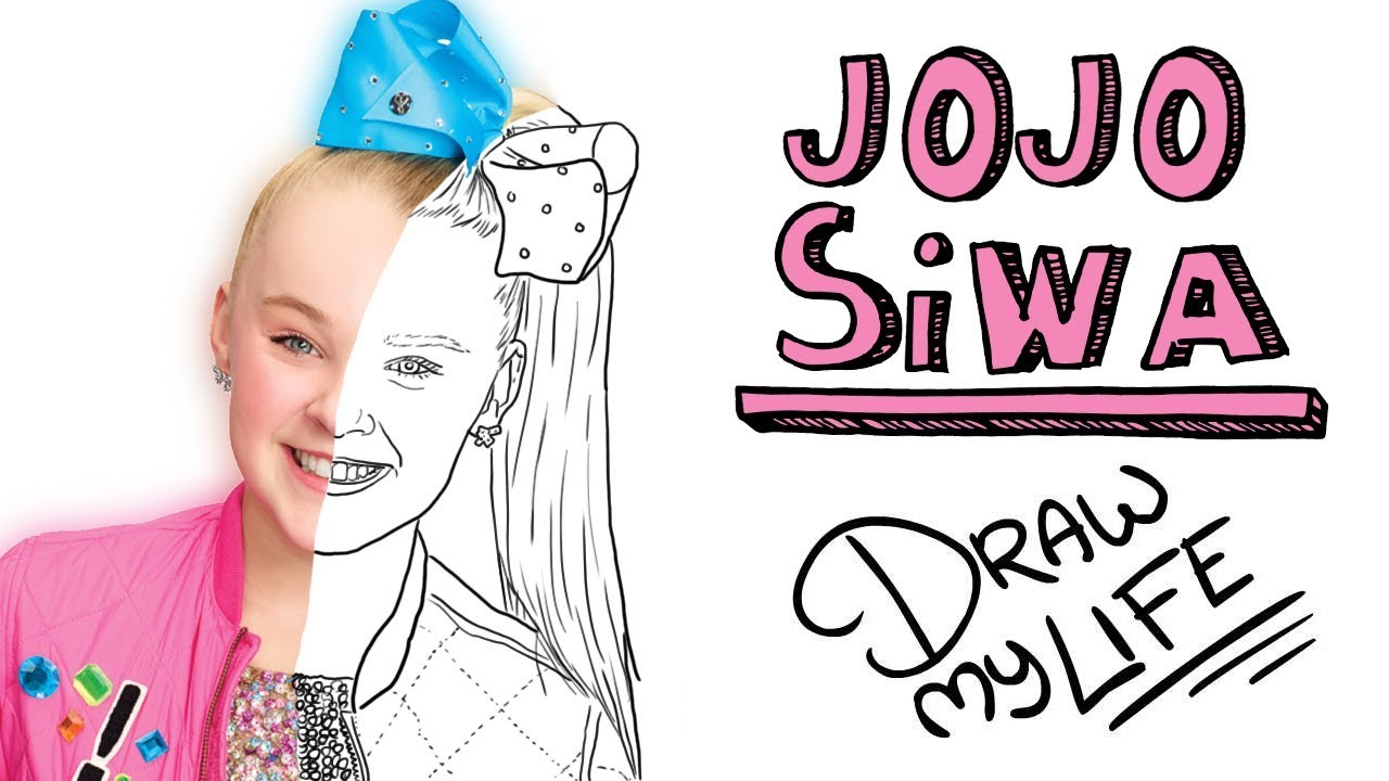 Jojo Siwa 🎀 Draw My Life Youtube