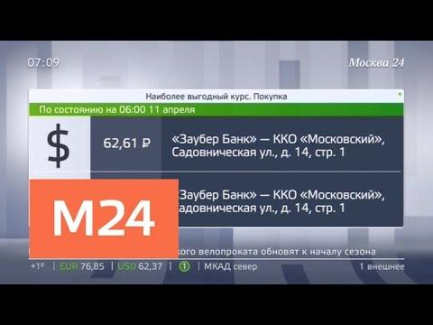 Выгодные курсы обмена наличной валюты в столице - Москва 24