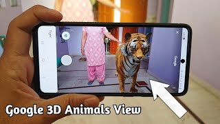 How to View G๐ogle 3D Animals in Your Mobile \ AR Feature