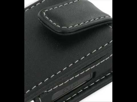 PDair Leather Case for Samsung SGH-L700 - Flip Type (Black)