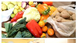 Eating healthy my fast fresh Fruit and vegetables haul