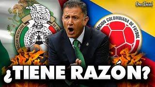 ¿¡COLOMBIA ES SUPERIOR A MÉXICO!? (ESTO DIJO OSORIO)