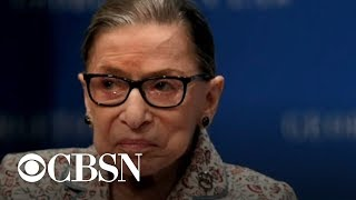Supreme Court's Ruth Bader Ginsburg praises Brett Kavanaugh for having all-female staff