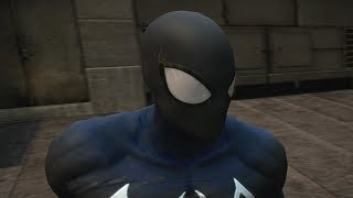 THE AMAZING SPIDER-MAN 2 VIDEOGAME - SYMBIOTE SPIDER-MAN COSTUME SHOWCASE