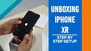 Gambar cover UNBOXING IPHONE XR + STEP BY STEP SETUP | SINGAPORE