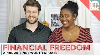 Financial Freedom Update April 2018 - Build Wealth, Save Money, & Pay Off Debt