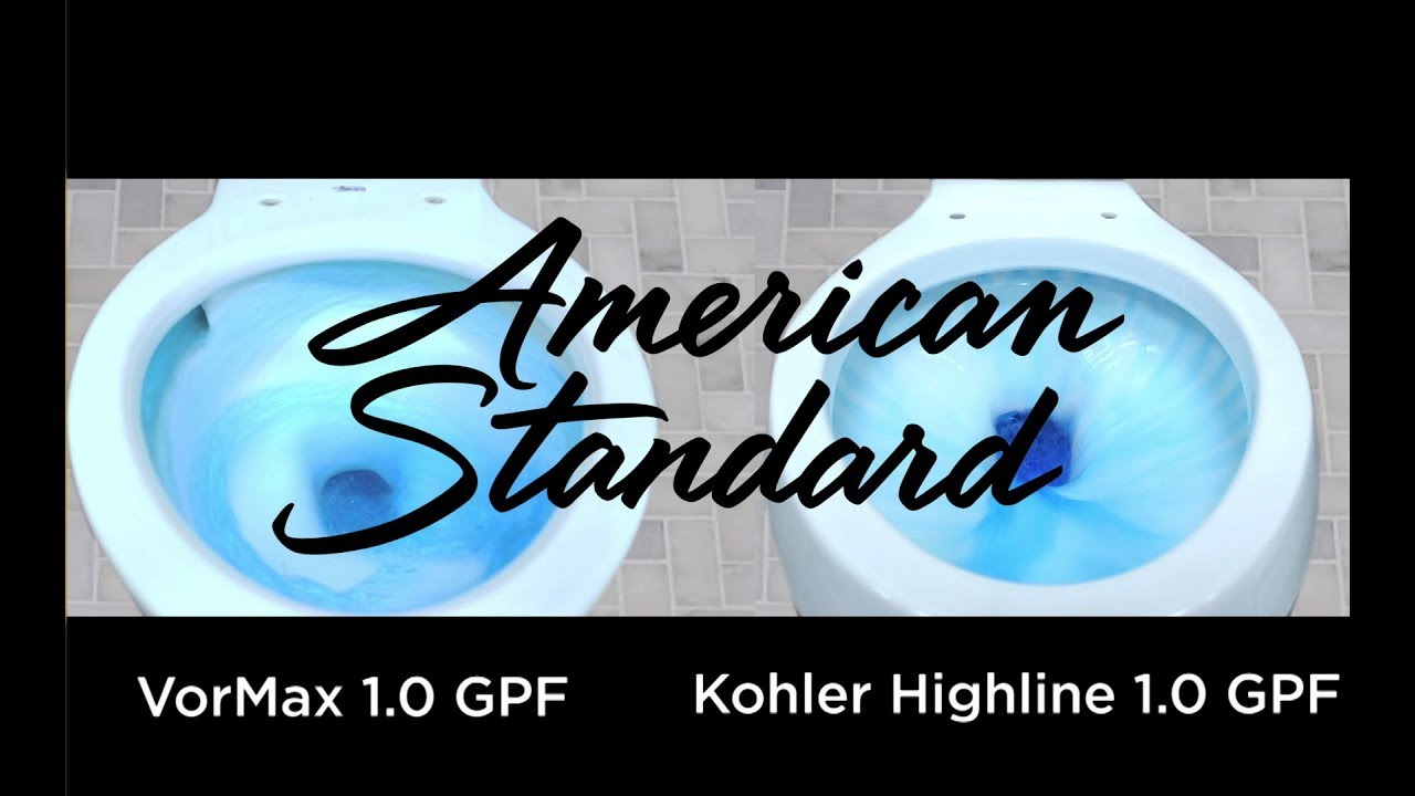 The American Standard VorMax UHET Flushes the Competition - YouTube