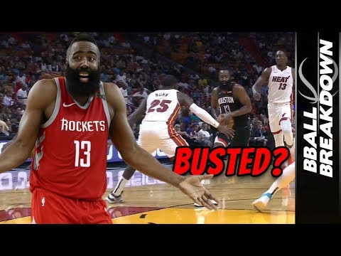 James Harden Finally Caught - But Was It The Right Call?